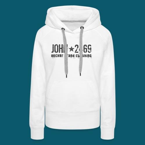 JOHN2469 prova per spread - Felpa con cappuccio premium da donna