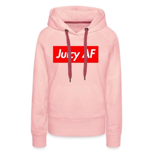 Juicy AF Front - Frauen Premium Hoodie