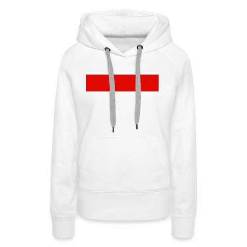 Red Rectangle - Women's Premium Hoodie