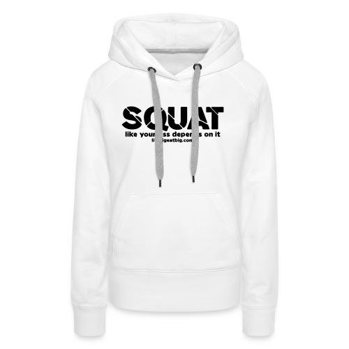 squat - Women's Premium Hoodie