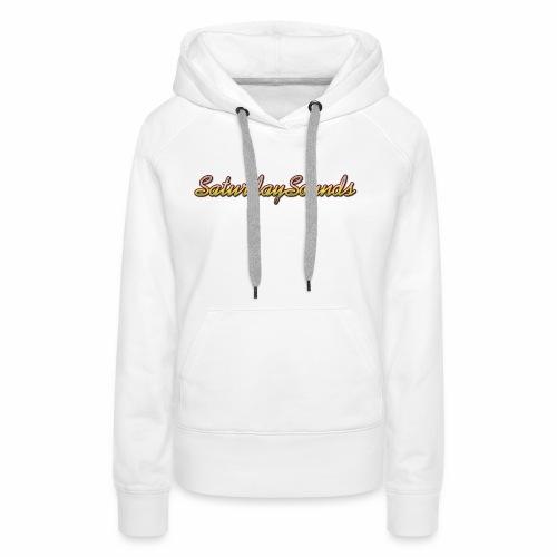 SaturdaySounds Hoes voor lPhone 5/5s. - Vrouwen Premium hoodie