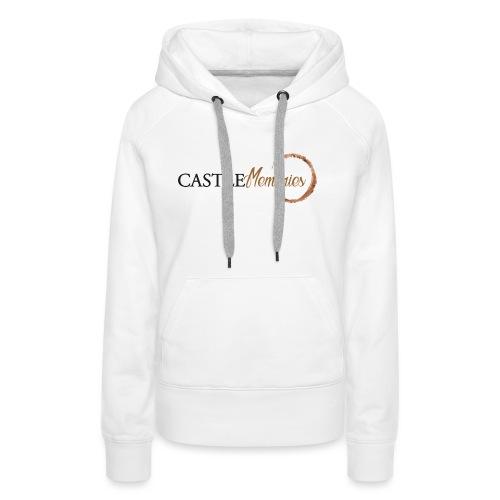 Castle Memories - Felpa con cappuccio premium da donna