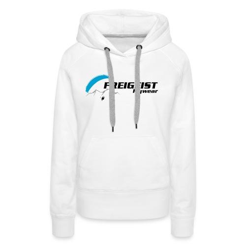 Freigeist-Flywear logo - Frauen Premium Hoodie
