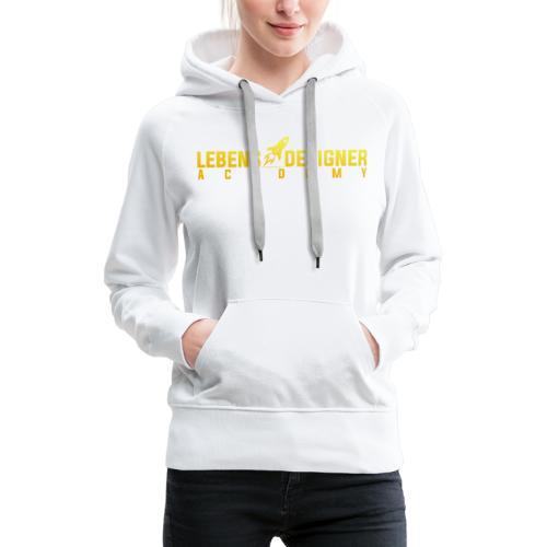 LEBENS DESIGNER Academy - Frauen Premium Hoodie
