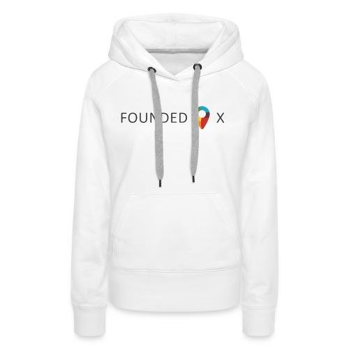 FoundedX logo png - Women's Premium Hoodie