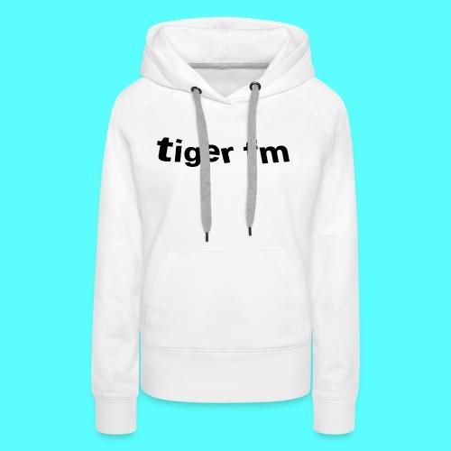 tiger fm logo - Frauen Premium Hoodie