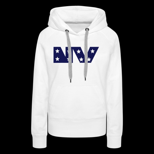 NY S AND S BLUE - Women's Premium Hoodie
