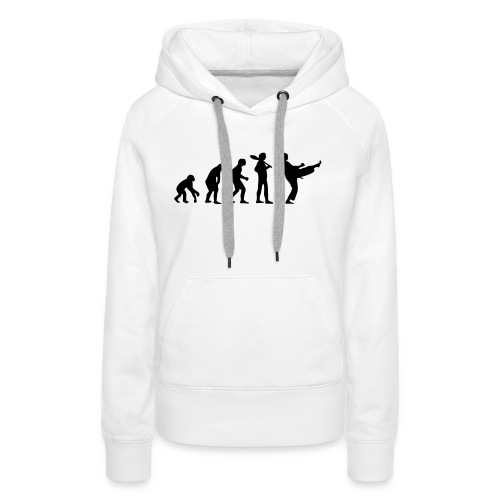 Karate Evolution - Frauen Premium Hoodie