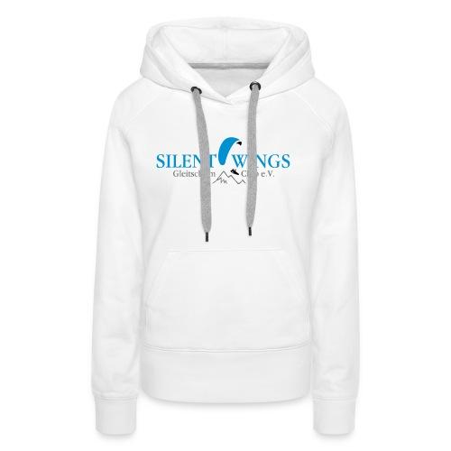 Silent Wings Logo 3 farbig - Frauen Premium Hoodie