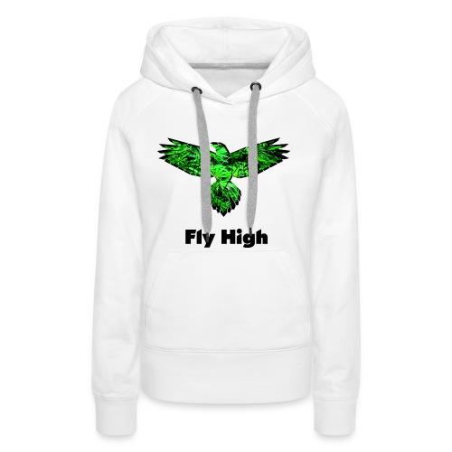 Fly High - Frauen Premium Hoodie