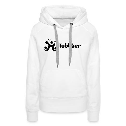 Tubbber B&W - Women's Premium Hoodie