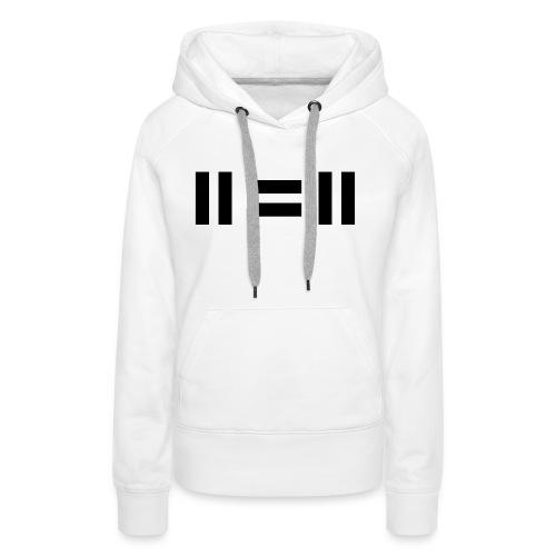 eleven equals eleven - Women's Premium Hoodie