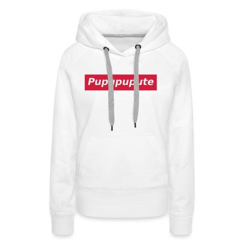 Pupupupute - Sweat-shirt à capuche Premium pour femmes