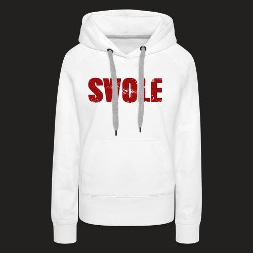 SWOLE RED - Women's Premium Hoodie