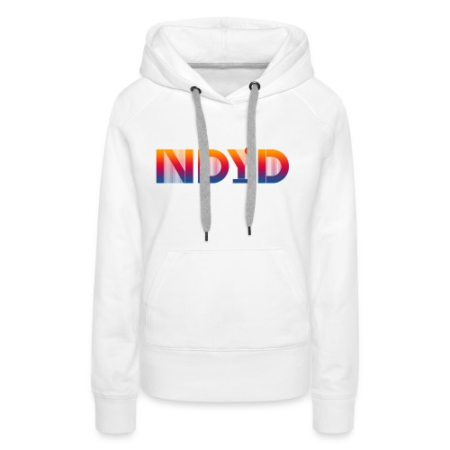 Track ID - NDYD on the Back - Women's Premium Hoodie