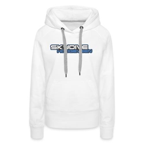 Logo Skydive Hoogeveen png - Vrouwen Premium hoodie