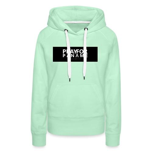 TEE-SHIRT HOMME - PRAY FOR PANAME - Sweat-shirt à capuche Premium pour femmes