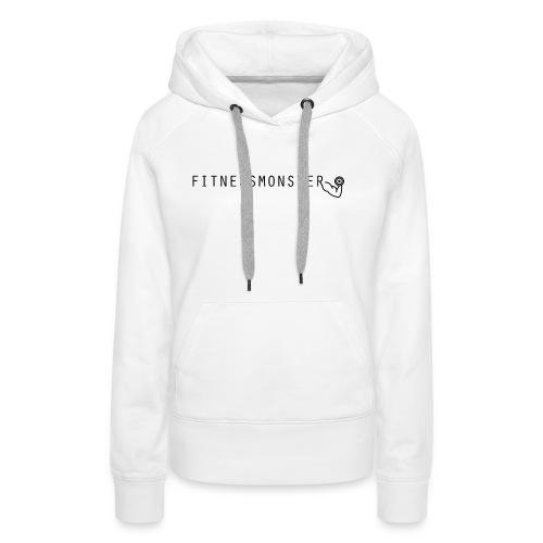 Fitnessmonster - Frauen Premium Hoodie