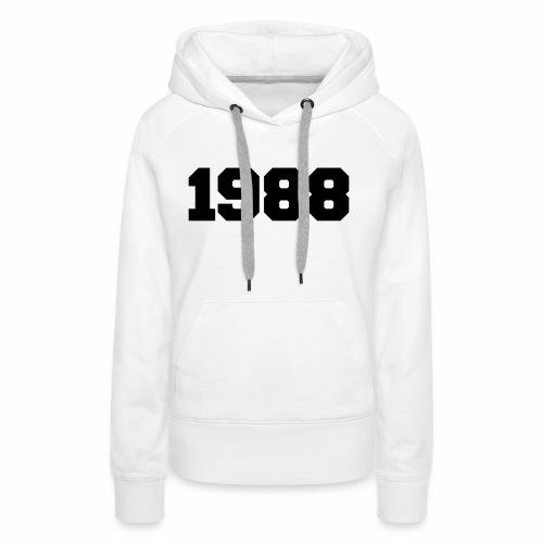 1988 - Women's Premium Hoodie