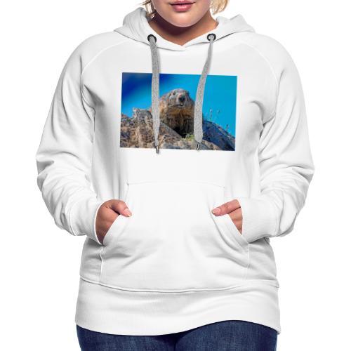Murmeltier - Frauen Premium Hoodie