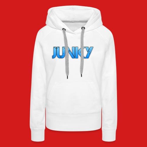 Junky Skate Blue - Women's Premium Hoodie