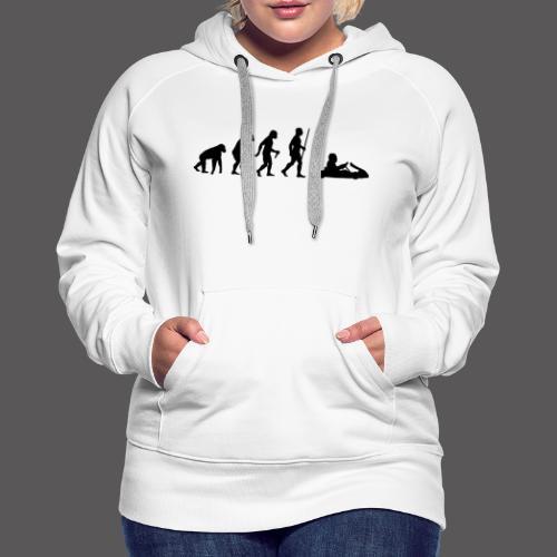 Kartevolution - Frauen Premium Hoodie