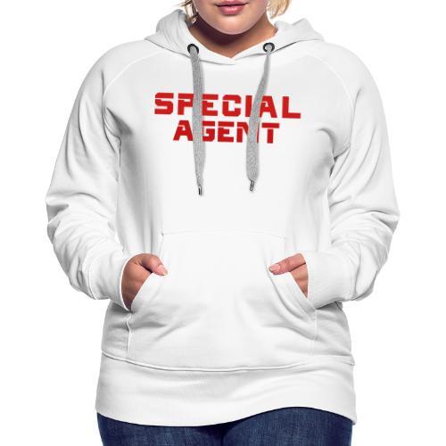 SPECIAL AGENT I - Bluza damska Premium z kapturem
