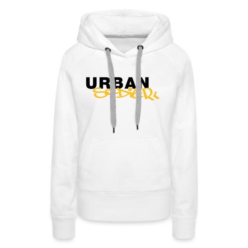 Urban Soldier Classic Solo Logo - Frauen Premium Hoodie