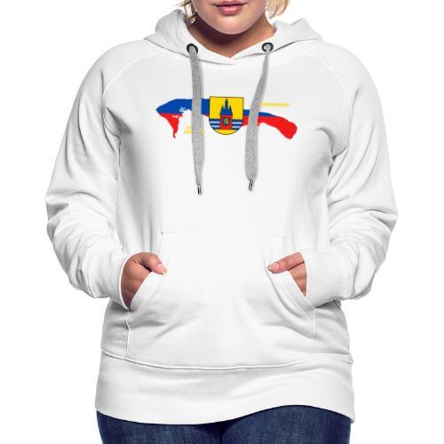 Wangerooge Insel Nordsee Urlaub - Frauen Premium Hoodie
