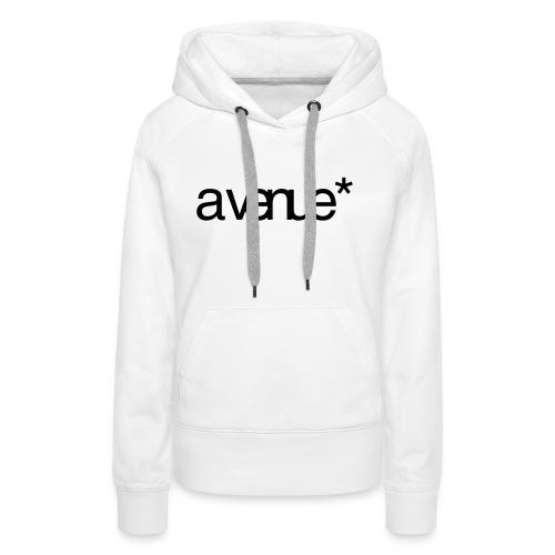 Logo AVenue1 80 - Vrouwen Premium hoodie