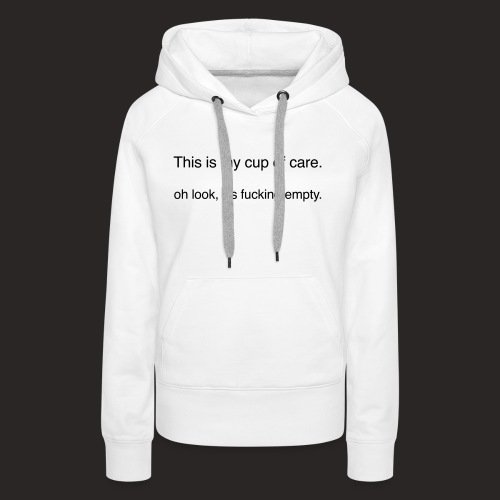 cup of care - Frauen Premium Hoodie