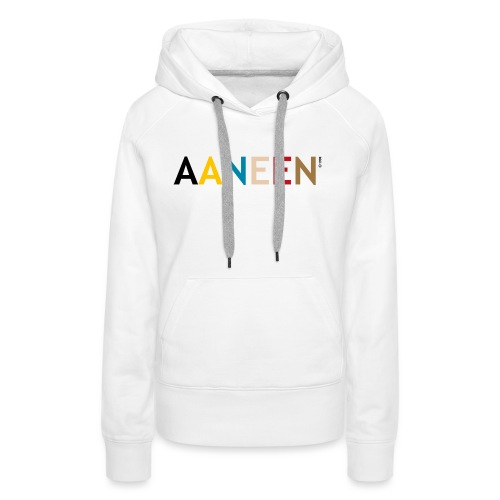 AANEEN_Alleen_Letters - Vrouwen Premium hoodie