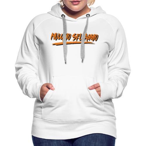 Mucchio Selvaggio 2016 Dirty Orange - Felpa con cappuccio premium da donna