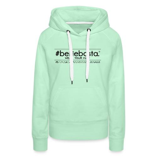 belliebasta - Felpa con cappuccio premium da donna