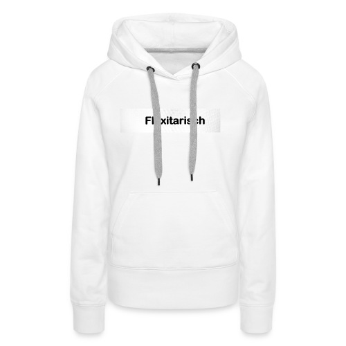 Flexitarisch - Frauen Premium Hoodie