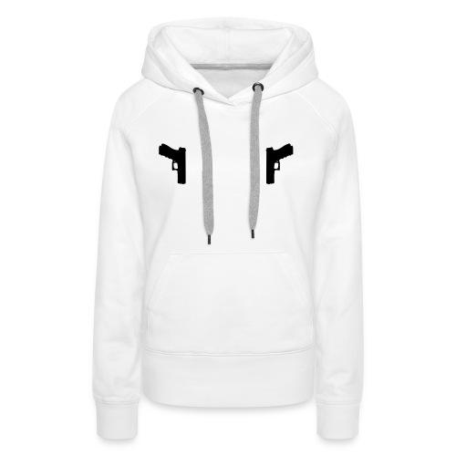 Guns Holster - Vrouwen Premium hoodie