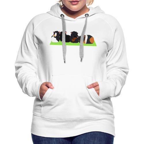 Cavia familie - Vrouwen Premium hoodie
