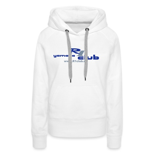 R1club Logo blau - Frauen Premium Hoodie