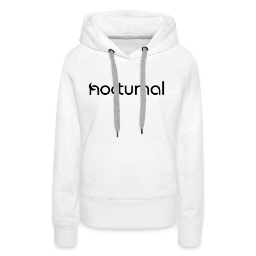 Nocturnal Black - Women's Premium Hoodie