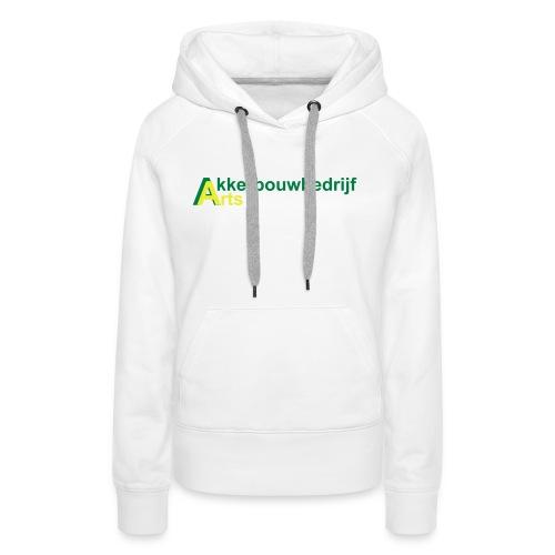 akkerbouwbedrijf arts - Vrouwen Premium hoodie
