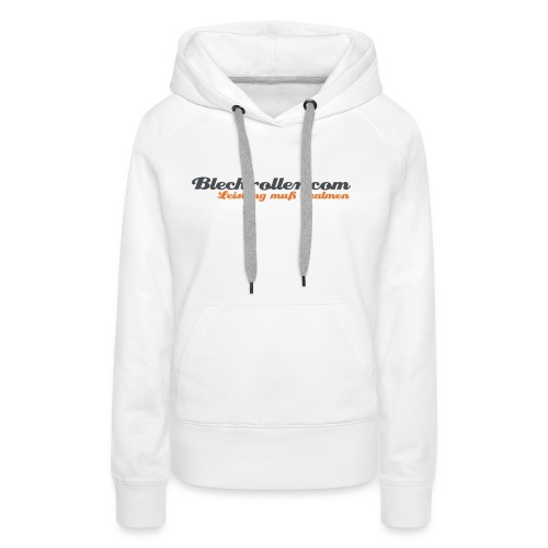 blechroller logo - Frauen Premium Hoodie