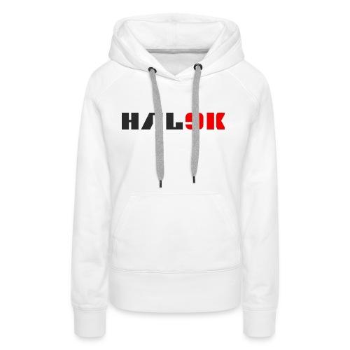hal9k - Dame Premium hættetrøje