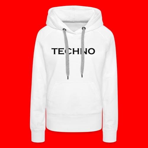 Parts of Life Techno Black - Frauen Premium Hoodie