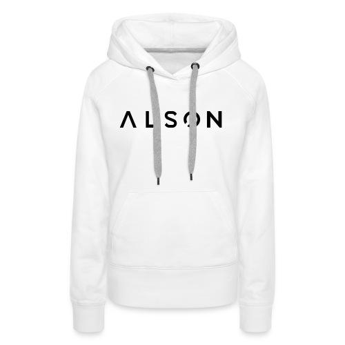 alson logo - Vrouwen Premium hoodie
