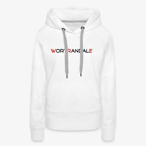 Wortrandale - Frauen Premium Hoodie
