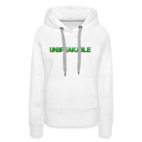 Unbreakable - Vrouwen Premium hoodie
