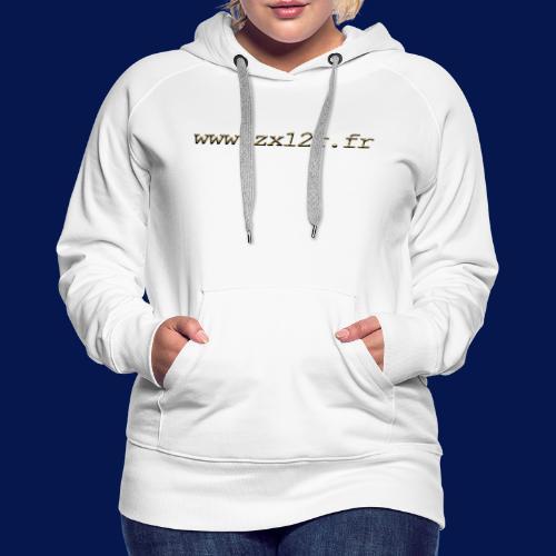 www zx12r fr OR - Sweat-shirt à capuche Premium pour femmes