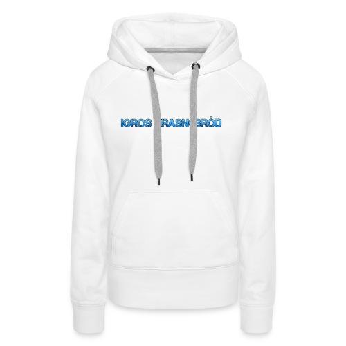2-png - Bluza damska Premium z kapturem