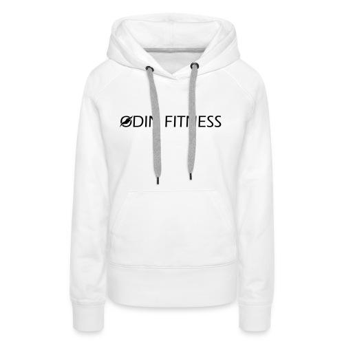 OdinFitnessBlack - Women's Premium Hoodie