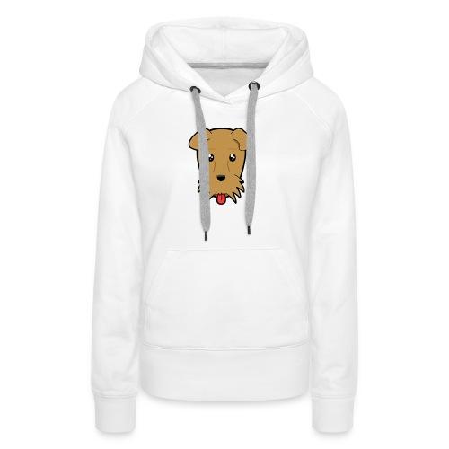 Shari the Airedale Terrier - Women's Premium Hoodie